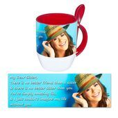 Personalised Pictorial Spoon Mug PP SM 1312