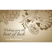 Best Wishes Gift Tag BW GT 0730