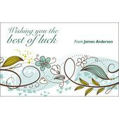 Best Wishes Gift Tag BW GT 0731