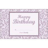 Birthday Gift Tag BGT 0020