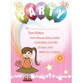 Kids Party Invitation 003