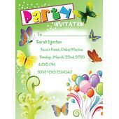 Kids Party Invitation 004