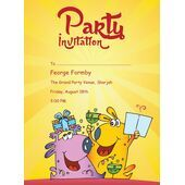 Kids Party Invitation 009