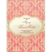 Wedding Invitation Card WIC 7882