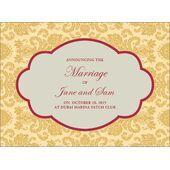 Wedding Invitation Card WIC 7887