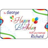 Personalised Gift Labels ST PGL 0002