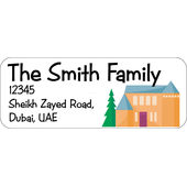 Personalised Return Address Labels ST RAL002