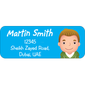 Personalised Return Address Labels ST RAL 005