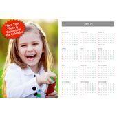 Poster Calendar Single Picture PCS 001