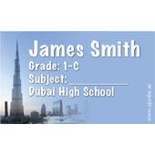 40 Personalised School Label 0346