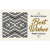Laser Cut Gift Tags D 281