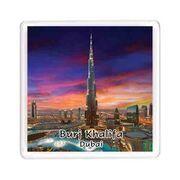 Ajooba Dubai Souvenir Magnet Burj Khalifa 0058
