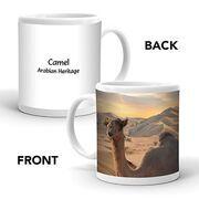 Ajooba Dubai Souvenir Mug Camel Arabian Heritage MCA 0001