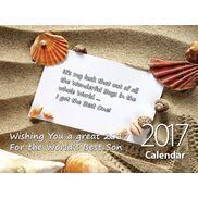 Son - Personalised Sentimental Wall Calendar