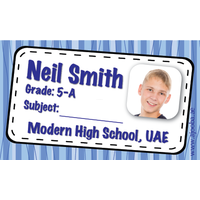 40 Personalised School Label 0200