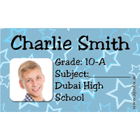 40 Personalised School Label 0276