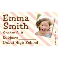 40 Personalised School Label 0302