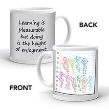 Ajooba Dubai Education Learning Mug 8524
