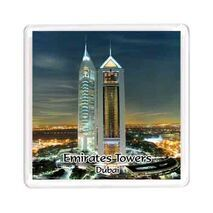 Ajooba Dubai Souvenir Magnet Emirates Towers MG 007