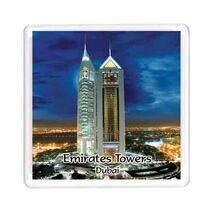 Ajooba Dubai Souvenir Magnet Emirates Towers MG 010