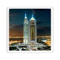Ajooba Dubai Souvenir Magnet Emirates Towers MG 011