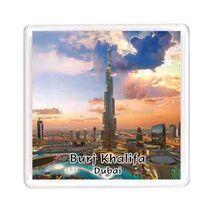 Ajooba Dubai Souvenir Magnet Burj Khalifa 0045