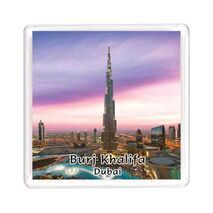 Ajooba Dubai Souvenir Magnet Burj Khalifa 0050