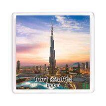 Ajooba Dubai Souvenir Magnet Burj Khalifa 0052