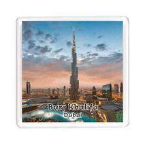 Ajooba Dubai Souvenir Magnet Burj Khalifa 0053