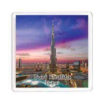 Ajooba Dubai Souvenir Magnet Burj Khalifa 0054