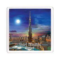 Ajooba Dubai Souvenir Magnet Burj Khalifa 0055