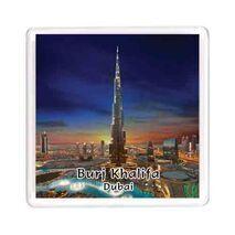 Ajooba Dubai Souvenir Magnet Burj Khalifa 0056