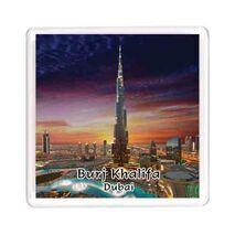 Ajooba Dubai Souvenir Magnet Burj Khalifa 0057