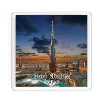Ajooba Dubai Souvenir Magnet Burj Khalifa 0059