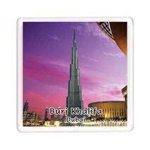 Ajooba Dubai Souvenir Magnet Burj Khalifa 0061