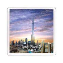 Ajooba Dubai Souvenir Magnet Burj Khalifa 0062