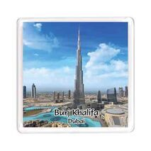 Ajooba Dubai Souvenir Magnet Burj Khalifa 0063
