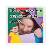Ajooba Dubai Health Happiness Magnet 6204