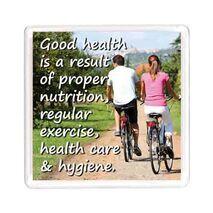 Ajooba Dubai Health Magnet 6207