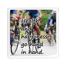Ajooba Dubai Health Happiness Magnet 6208