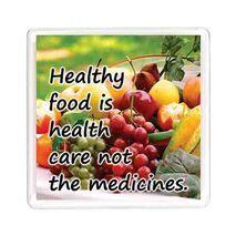 Ajooba Dubai Health Magnet 6213