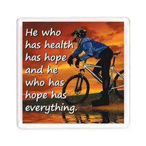 Ajooba Dubai Health Magnet 6214