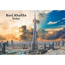 Ajooba Dubai Souvenir Puzzle Burj Khalifa 0035