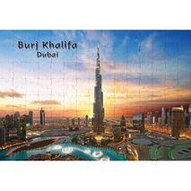 Ajooba Dubai Souvenir Puzzle Burj Khalifa 0042