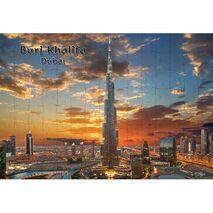 Ajooba Dubai Souvenir Puzzle Burj Khalifa 0043