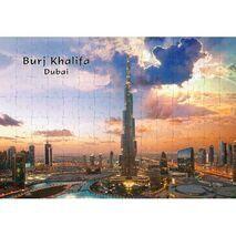 Ajooba Dubai Souvenir Puzzle Burj Khalifa 0046