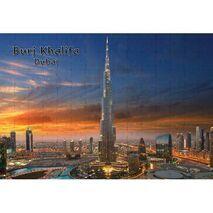 Ajooba Dubai Souvenir Puzzle Burj Khalifa 0047