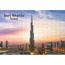 Ajooba Dubai Souvenir Puzzle Burj Khalifa 0052