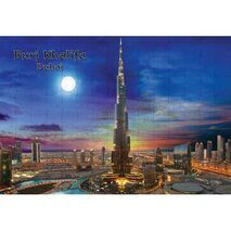 Ajooba Dubai Souvenir Puzzle Burj Khalifa 0055