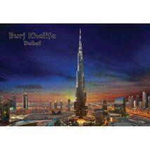 Ajooba Dubai Souvenir Puzzle Burj Khalifa 0056